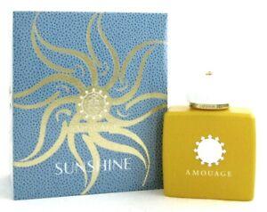 Amouage Sunshine Women's Perfume 3.4 oz./ 100 ml. EDP Spray New In Sealed Box.