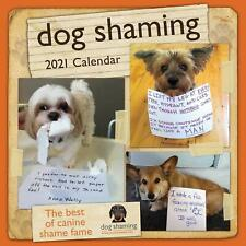 Dog Shaming - 2021 Wall Calendar - Brand New - Humor 857158