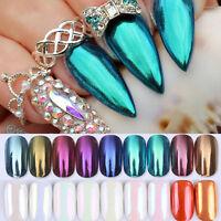 Mirror Powder Glitter Manicure Nail Art Chrome Pigment 9colors BORN PRETTY