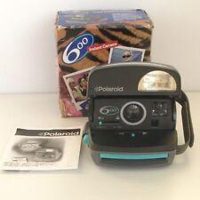 Polaroid  600 vert et gris - Etat de fonctionnement - Boîte et mode d'emploi -