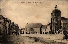 CPA   Le Grand-Fougeray - Place del'Eglise  (357112)