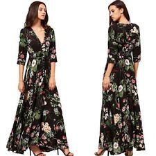 Long dress dresses maxi summer sundress boho cocktail Women evening beach party