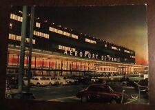 Vintage Postcard Aeroport de Paris Airport Unused Unposted