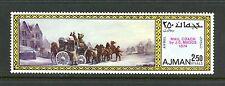 Ajman 1971  #Mi1053A  art paintings mail coach  1v.   MNH  K652