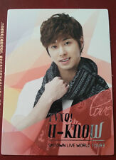 TVXQ DBSK Tohoshinki official SMTown III Korea version Yunho photocard type 2