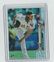 A.J. PUK  2020 Topps Series 1 #251 RAINBOW FOIL Rookie Card  Athletics