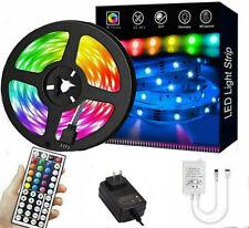 Led Strip Lights 16 ft RGB Led Room Lights 5050 Led Tape Lights Color Changing