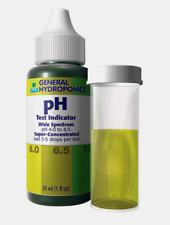 General Hydroponics pH Test Indicator Kit 1 oz. Wide Spectrum Super-Concentrated