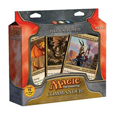 Magic Mtg Commander 2011 Political Puppets New Sealed