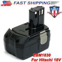 For Hitachi EBM1830 Replacement Lithium HXP 18 Volt 18V Battery BCL1820 BCL1840