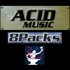 446 Acid Pro / Music 8packs!! 5,700 LOOPS!!! ( formerly Sony / Sonic Foundry)