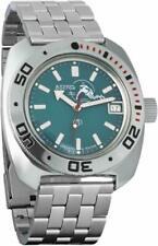 Vostok 710059 Amphibian Military Russian Scuba Dude Diver Watch - Blue