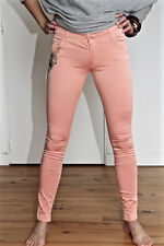 pantaloni chino rosa strass estate MET AND FRIENDS baspiane t 26 (36) NUOVO v