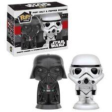 """CASA Pop Star Wars Darth Vader & Stormtrooper PORTA SALE E PEPE 3.75"""" FUNKO"""