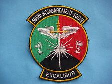 "US AIR FORCE 596th BOMBARDMENT SQUADRON "" EXCALIBUR """