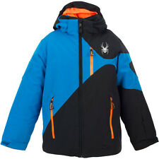 Neu 1o.ooomm Spyder Mini Enforcer Isoliert Ski Kleine Kinder Jacke 2 Yrs