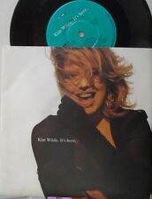 "KIM WILDE ~ Its Here ~ 7"" Single PS"