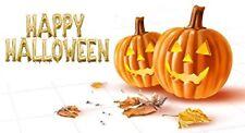 "40"" Happy Halloween Supershape Foil Letter Balloon Set - Flat In Gold"