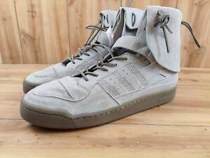 Rare Adidas Originals Forum High Moc Men Shoes Art B27682 Grey Sz 16