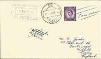 Maritime Mail Cover Posted On Board SS Antilles To Vigo 15 Oct 1962 U640