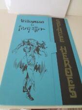 Al Williamson & Frank Franzetta Space Heroes Portfolio 249/2500 1976
