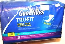 Goodnites TRU-FIT  Refill Pack for Boys & Girls L/XL 16 Ct