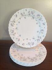 Wedgwood APRIL FLOWERS Bone China Dinner Plates ~ Set of 6