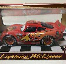 NIB Disney Pixar The World of Cars Lightning McQueen 1:24 Diecast Matty.com
