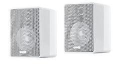 CANTON Plus MX.3 hochglanz weiss Kompakt-Lautsprecher-Paar Neu sofort lieferbar
