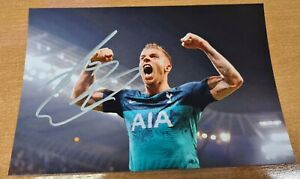 Toby Alderweireld Signed Autograph Photo Tottenham Hotspur Spurs Champions...