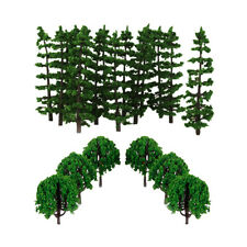 40pcs Model Trees Train Railway DIY Diorama Scenery Landscape HO Scale 1:100