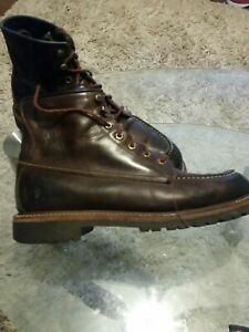 Frye dakota lace up boots mens 10.5