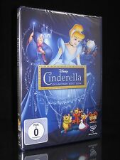 DVD WALT DISNEY - CINDERELLA 1 - DIAMOND EDITION - DISNEY-KLASSIKER *** NEU ***