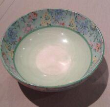 Shelley Melody Bone China Chintz Art Deco Floral Large Bowl Dish Vintage Flowers