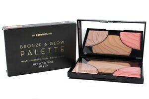 KORRES Bronze and Glow Palette ~ Multi - Purpose / Sun - Kissed Look, CANDY GLOW
