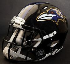 ***CUSTOM*** BALTIMORE RAVENS NFL Riddell Full Size SPEED Football Helmet