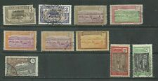 Cameroon 1915-1925 from an old collection mint/used (2002)