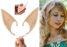 Elf Ears Pointed Rubber Latex Prosthetic Tips Angel Fairy Adults Childrens