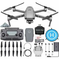 DJI Mavic 2 Zoom Drone - 2x Optical Zoom - FHD Video + Starter Bundle Kit