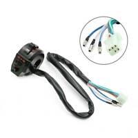 "Motorcycle 7/8"" 22mm Handlebar Control Horn Turn Signal Light Left Switch 12V"