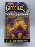 Kenner 1995 Gargoyles Lion Bronx Deluxe Battle Doubles Winged Beast Combat Armor