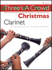 One-Two-Three Christmas Clarinet Perfect for Solo Duet or Trio Playing 014036658