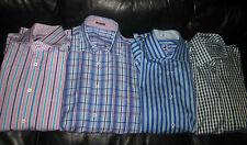 Huge lot of 4 tops shirt shirts BUGATCHI UOMO men's casual MINT  M &L elegant