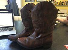 Girls' Natalia Western Boots Cat & Jack™ - Brown Size 4 Worn Twice