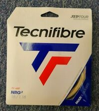 Tecnifibre NRG2 18 Gauge 1.18mm Tennis String NEW Natural