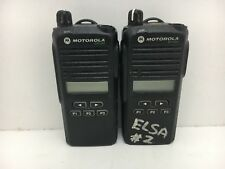 Globe Roamer 2 x Motorola AZH03KEH8AA7 CP1300 Portable VHF Radios
