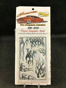 Detail Master DM-9110 Flame Template - Bold New in Package