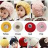 Cute Toddler Kids Girl Boy Baby Infant Winter Warm Crochet Knit Hat Beanie Caps