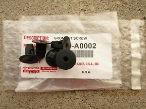 FITS: 10 - 20 LEXUS GX460 FRONT FENDER LINER SCREW GROMMET QTY = 5 BRAND NEW
