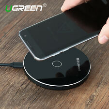 UGREEN Qi Wireless Charger Fast Charging Pad For iPhone 8 X Samsung S8 S7 Edge